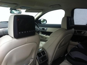 jaguar xf lrg screens