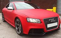Audi RS5 mat red - Copy
